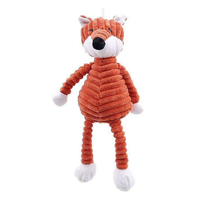 Autre New Baby Elephant Lion Fox Rabbit Pig Panda Duck Monkey Soft Stuffed Toys Cute Torest Animal Plush Toy For Kids(fox) à prix pas cher