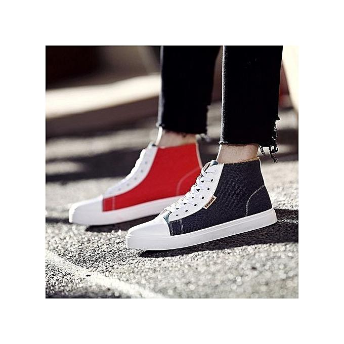 Fashion    's Casual Platform Shoes Sport High Running Shoes New Fashion Students Fashion  's Shoes-Noir  à prix pas cher  | Black Friday 2018 | Jumia Maroc bd9677