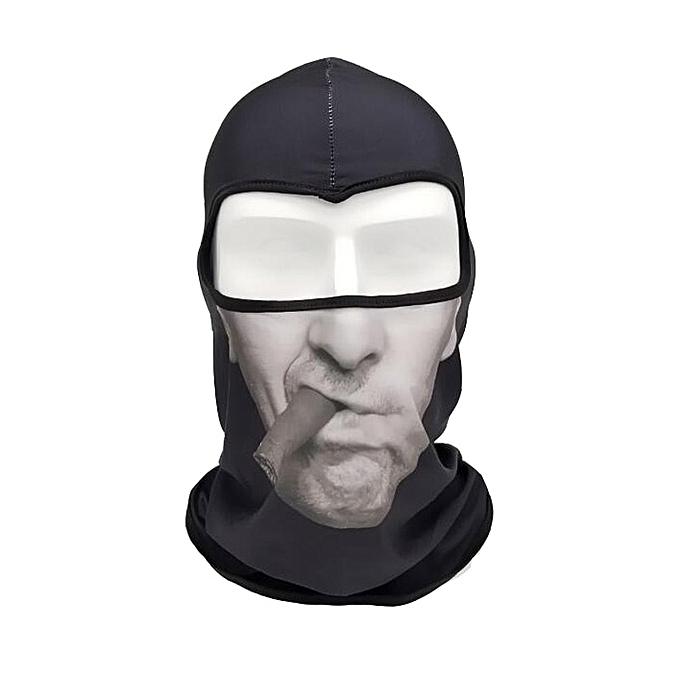 Autre Face Shield Animal Mask Hood Mask anti Wind Sand Breathable Men femmes Outdoor Riding Collar Sleeve Towel Balaclava Car Styling( H) à prix pas cher