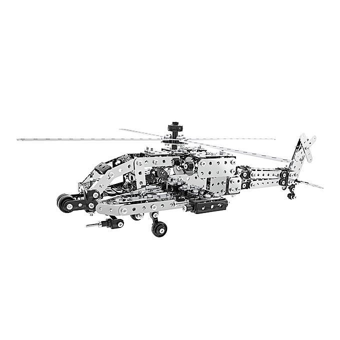 UNIVERSAL MoFun ZHIBO SW-021 DIY acier inoxydable AH-64 Helicopter  shipembling Blocks à prix pas cher