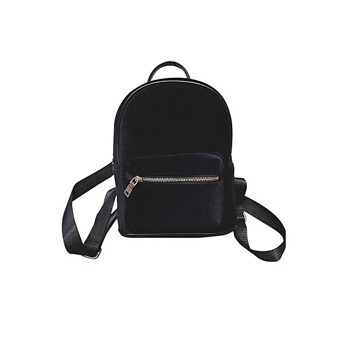 Fashion Correponde Simple Backpack Soft Velvet Backpack femmes Small Travel Backpack à prix pas cher