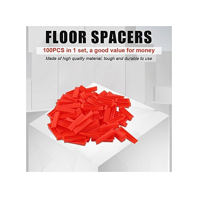 Other 100PCS Wedges Floor Wall Tile Leveler Spacers Leveling Plane Tools à prix pas cher