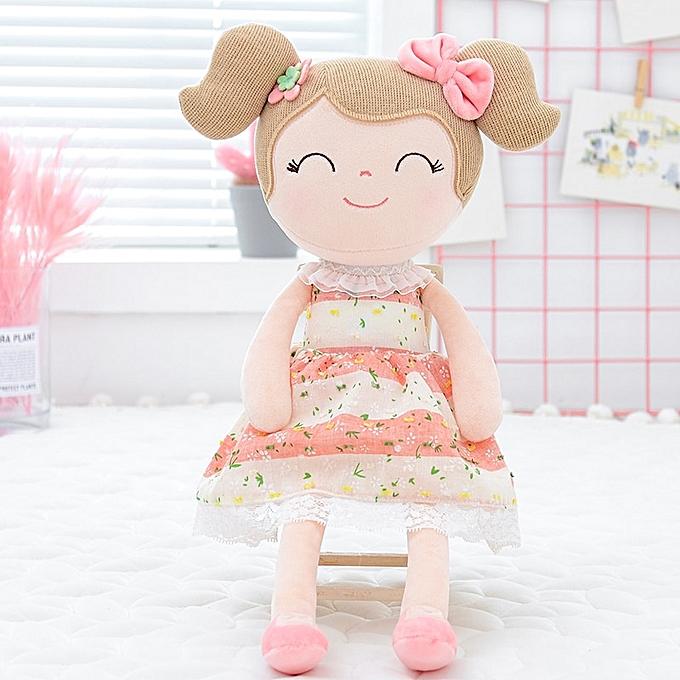 Autre Spbague Girl Dolls   Dolls Gifts Cloth Dolls Enfants Rag doll Plush Toys 40CM rose(rose) à prix pas cher