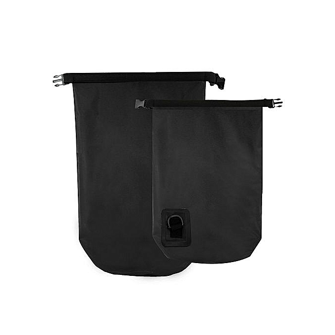 UNIVERSAL 20L Waterproof Storage Dry Bag Pouch Backpack Swim Boating Canoe Kayaking Camp noir à prix pas cher