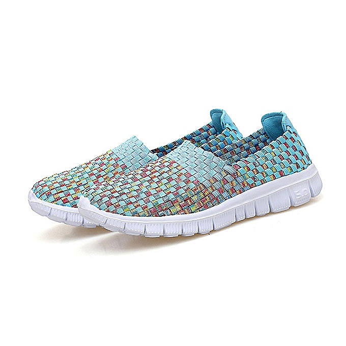 Fashion femmes Hand-Made Knitting Outdoor Casual Flat chaussures à prix pas cher    Jumia Maroc