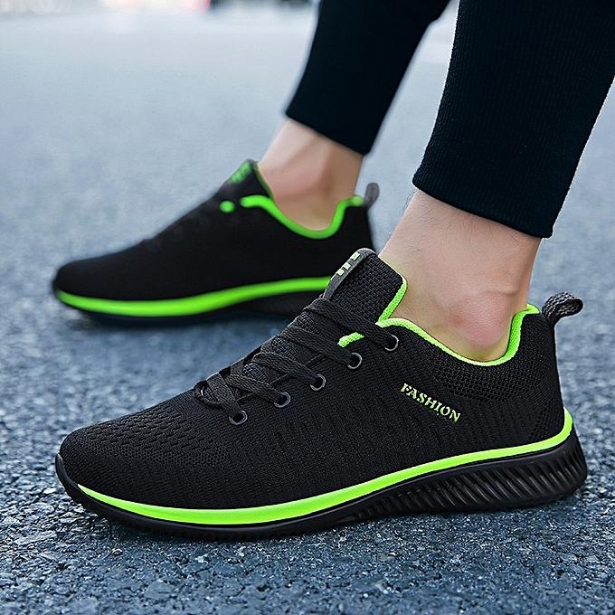 Other respirant FonctionneHommest chaussures de plein air Sports Athletic chaussures-noir vert à prix pas cher