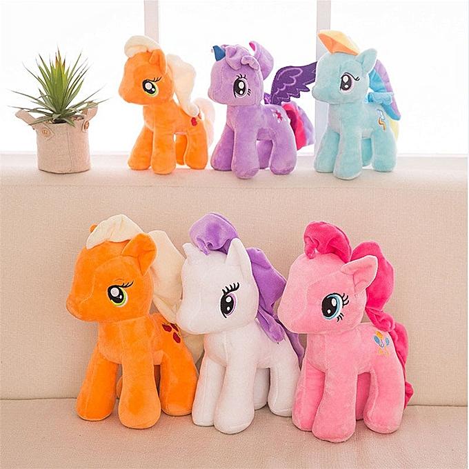 Autre 15 25cm Plush Animal Unicorn Horse Stuffed Animals Toys   Infant Girls Toys Birthday Gift  licorne                    (A) à prix pas cher