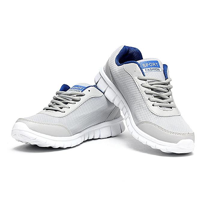 mode Hommes's FonctionneHommest Gym Trainers de plein air Sports paniers Athletic Décontracté en marchant chaussures bleu-EU à prix pas cher