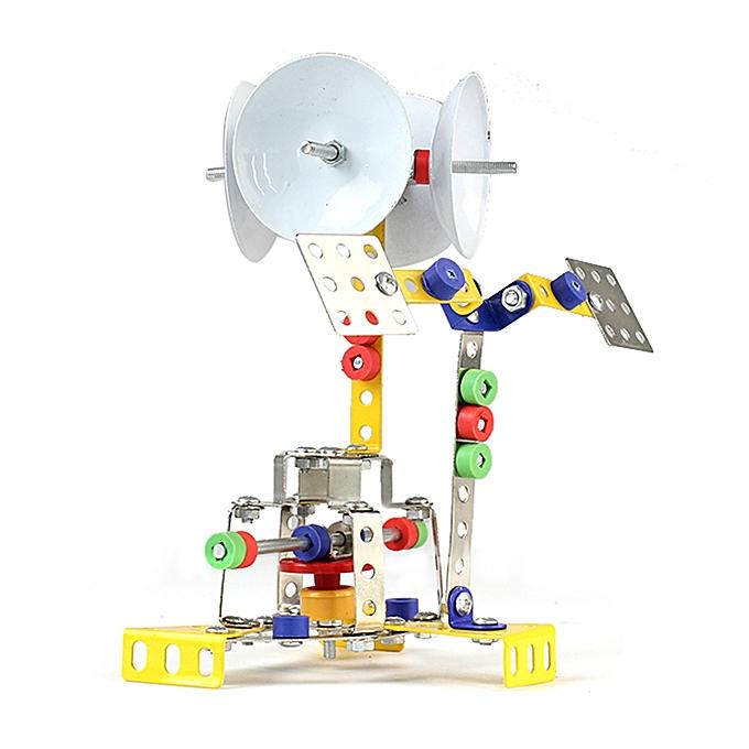 Autre 126Pcs Space Shuttle Receiving Station Intelligent Construction Set 3D Metal Model Kit DIY Gift Model Building Educational Toys à prix pas cher