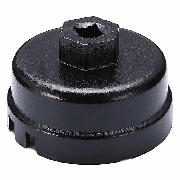 Autre 1 Pcs 64mm 14 Flute Oil Filter Cap Wrench Remover Tool For Toyota Sequoia Lexus TB Sale(noir) à prix pas cher