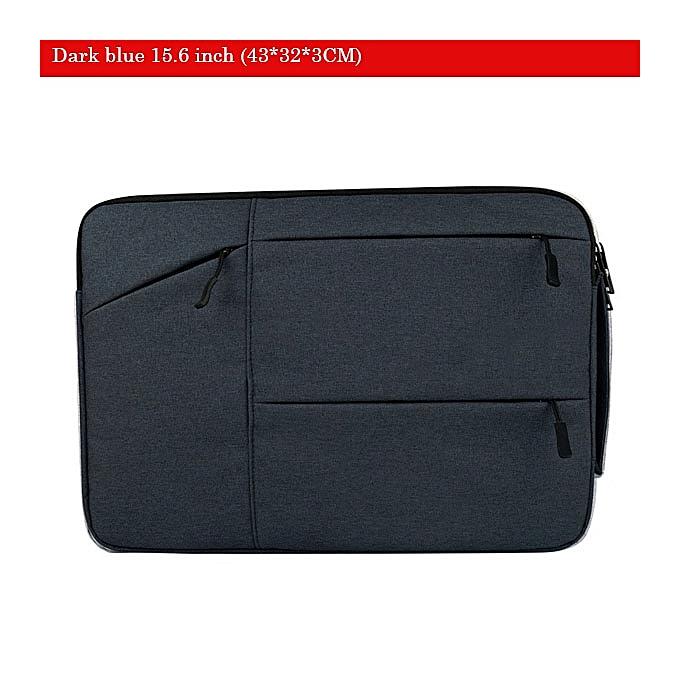 Other Soomile Laptop bag 15.6 inch for femmes and men Oxford sleeve bag notebook computer handbag case Portable Men Briefcase (dark bleu 15.6 inch) à prix pas cher