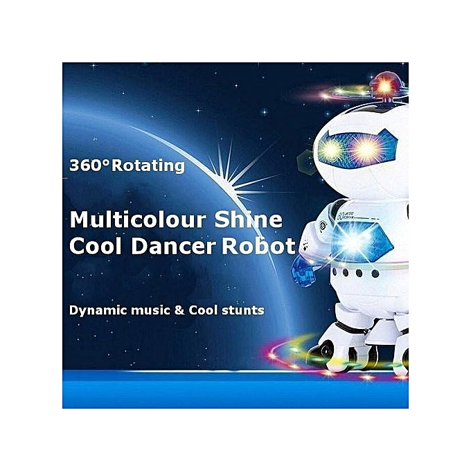 Generic Electric Space Intelligent Robot Dancing And Singing 360-degree rougeating Robot Toys à prix pas cher