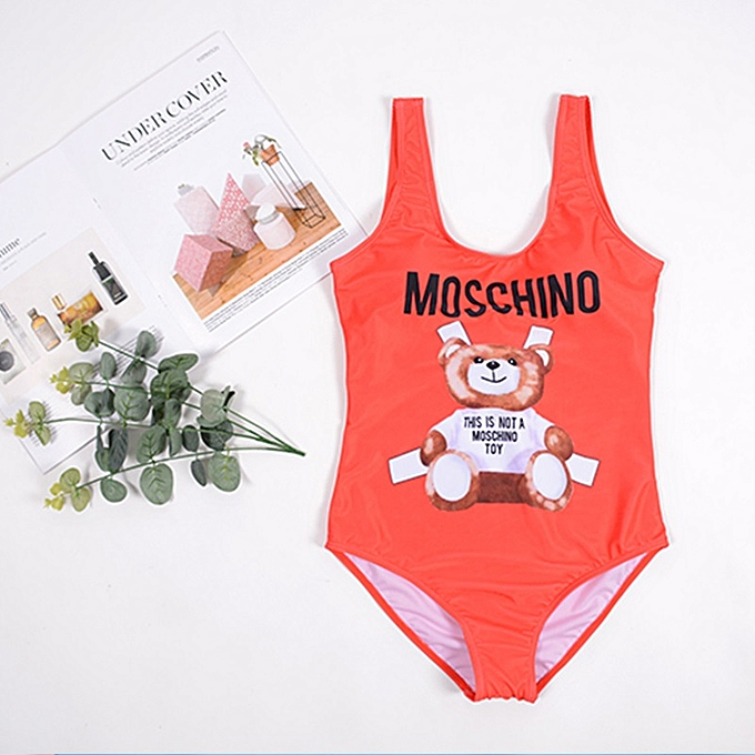 Autre Bikinis 2019 Woman One Piece Swimwear Cartoon Swimsuits Bikini Plus Taille Swimwear High Waist Bathing Suit String Bikini( 16) à prix pas cher