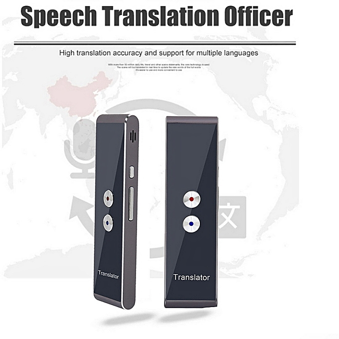 Other Portable Smart Voice Speech Translator Two-Way Real Time Multi-Language Translation For Learning Travelling Business Meeting WAAAA à prix pas cher