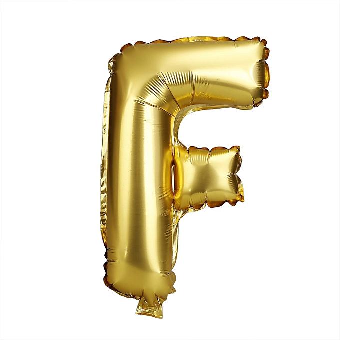 Sunshine Alphabet Letter Number Decoration Supplies Foil Air Balloons-or à prix pas cher
