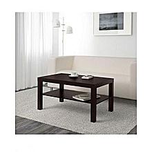 Table Basse IKEA   Noir Brun 90x55cm
