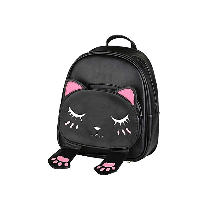 Generic Tectores mode Accessories Cute Cat sac à dos School femmes sac à doss For Teenage Girls à prix pas cher