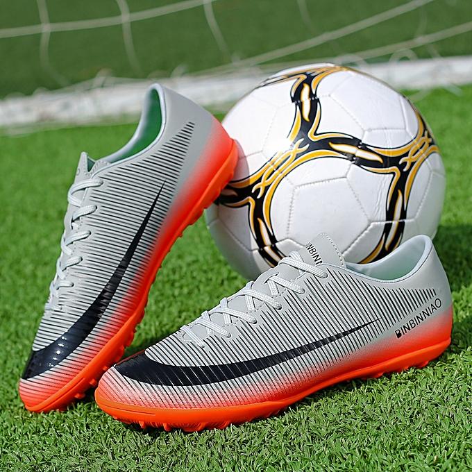 Other Chaussures de foot à crampons courtes grises à prix pas cher
