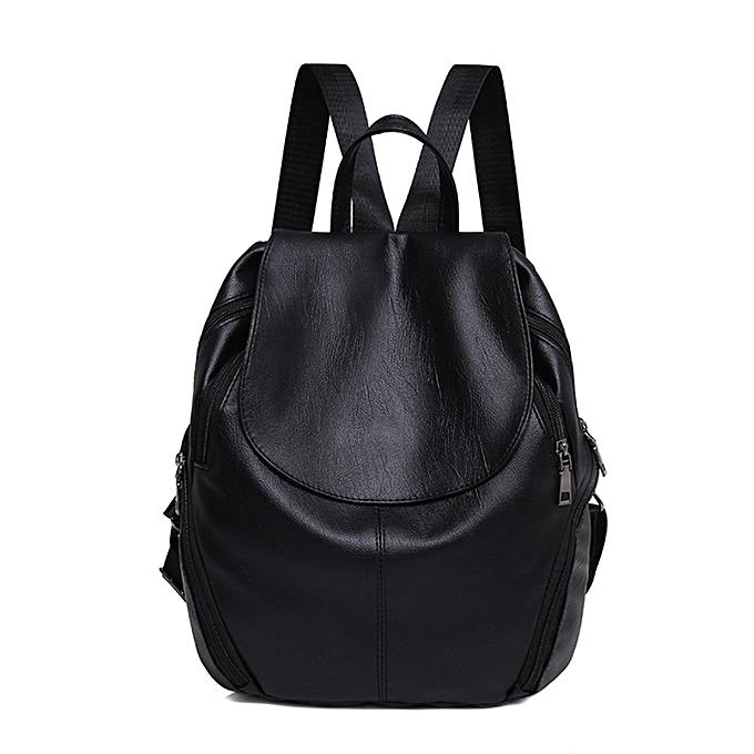 mode Tcetoctre été nouveau College Wind Schoolsac sac à dos femme Leisure voyage sac sac à doss-noir à prix pas cher