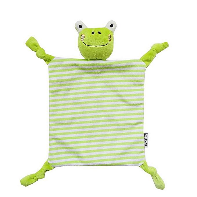 Autre Toddler Kids Plush Towel Toy Cartoon Animal Rattle Toy Baby Sleeping Stuffed Dolls Comfort Towel 40% off(A) à prix pas cher