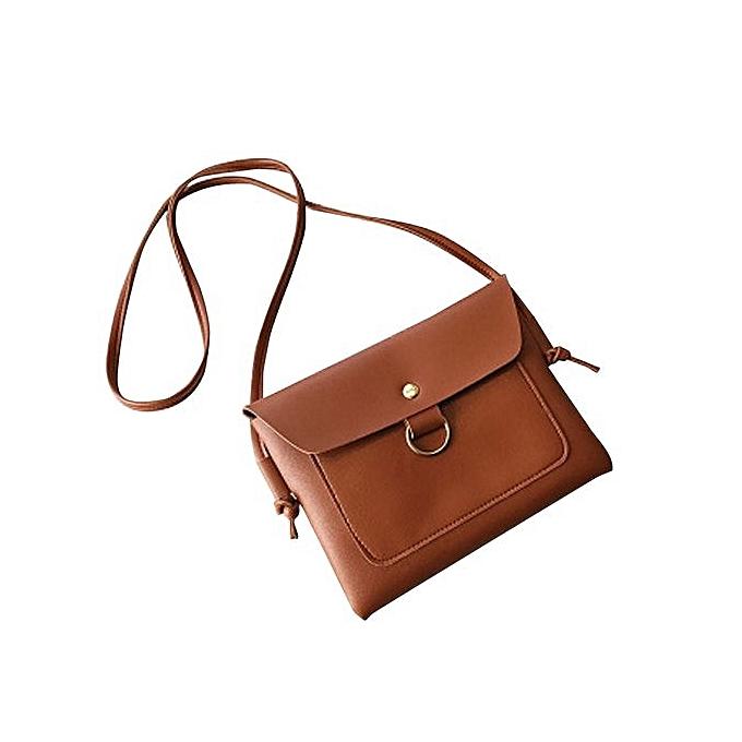 nouveauorldline femmes Messenger sacs bandoulière Shoulder sacs Handsac petit Body sacs- Khaki à prix pas cher