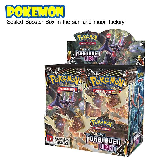 Autre Pokemon Forbidden lumière TCG Sun and Moon Sealed Booster Box - 36 packs à prix pas cher
