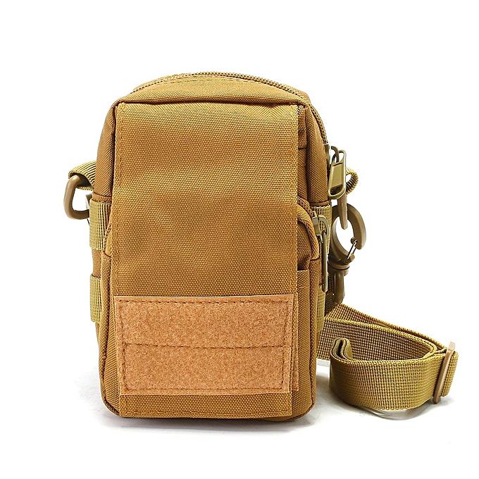 mode Tactical Molle Pouch EDC Utility de plein air Sports Waist sac with Cell Phone Holder à prix pas cher