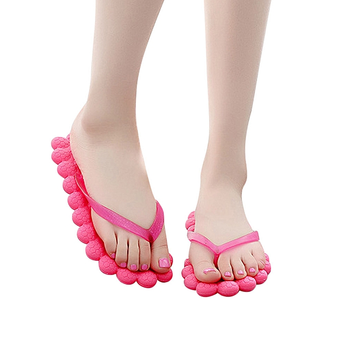 Fashion Hiamok Wohommes Summer Fashion Casual Flip-flops Slippers Beach chaussures Traveling Massage à prix pas cher