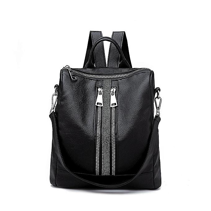 mode Wohommes Daypacks argent nouveau Zipper femmes sac à dos voyage Stripe petit sac à doss PU cuir imperméable Totes Luxury Shoulder sac à prix pas cher