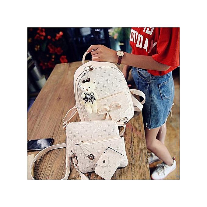Generic Xiuxingzi_ mode cuir Cute Shoulder sacs School sac à doss voituredsacs For femmes Girls à prix pas cher