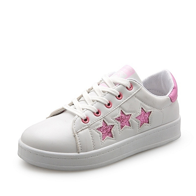 Autre Stylish Pentagram Stars WoHommes    Student White Shoes à prix pas cher  | Jumia Maroc aab4c5