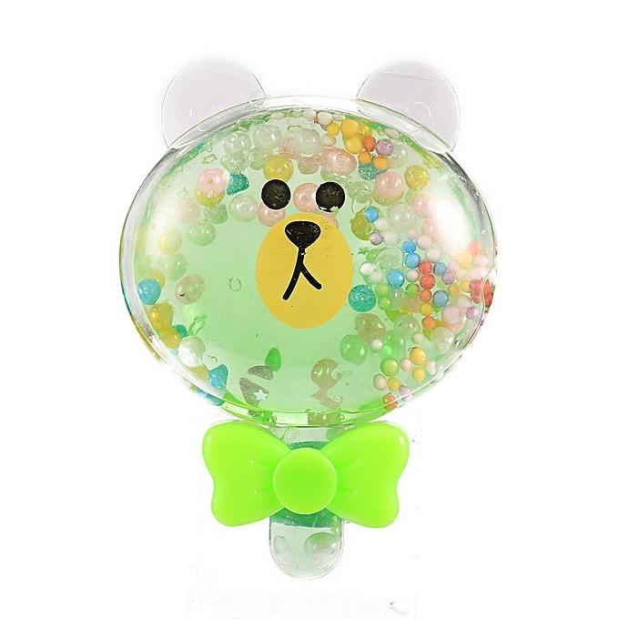 Sunshine Non toxique Transparent Cristal Boue Argile Mastic Putty Slime DIY Jouets Enfants Jouets Cadeau à prix pas cher