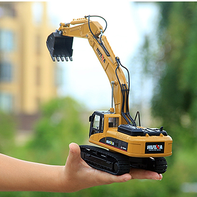 UNIVERSAL HUINA 7713-1 1 50 Scale Excavator Model Alloy Hydraulic Engineebague Digging Toys à prix pas cher