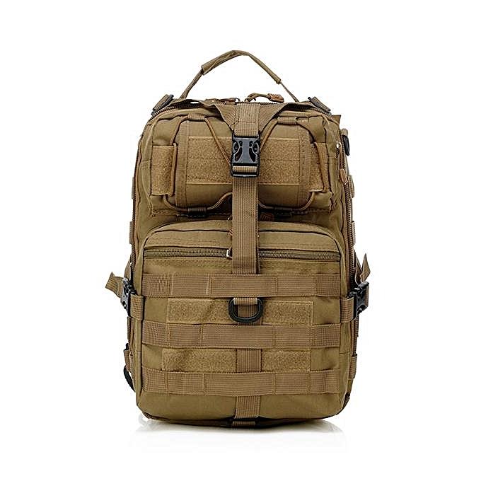 UNIVERSAL Men Oxford Tactical Chest Pack Molle Slingle Shoulder Backpack Sling Bag Mud à prix pas cher