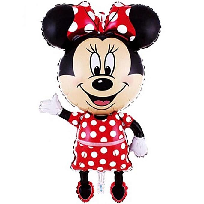 Generic MINNIE Mouse Ballon Pour Décoration D'anniversaire - (11463) cm à prix pas cher
