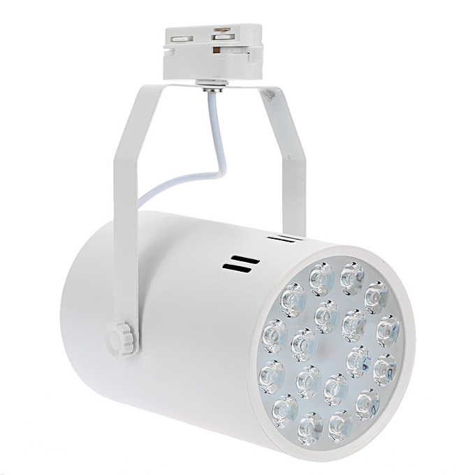 Other 18W LED Track Rail Light Spotlight Adjustable for Mall Exhibition Office Use AC85-265V à prix pas cher
