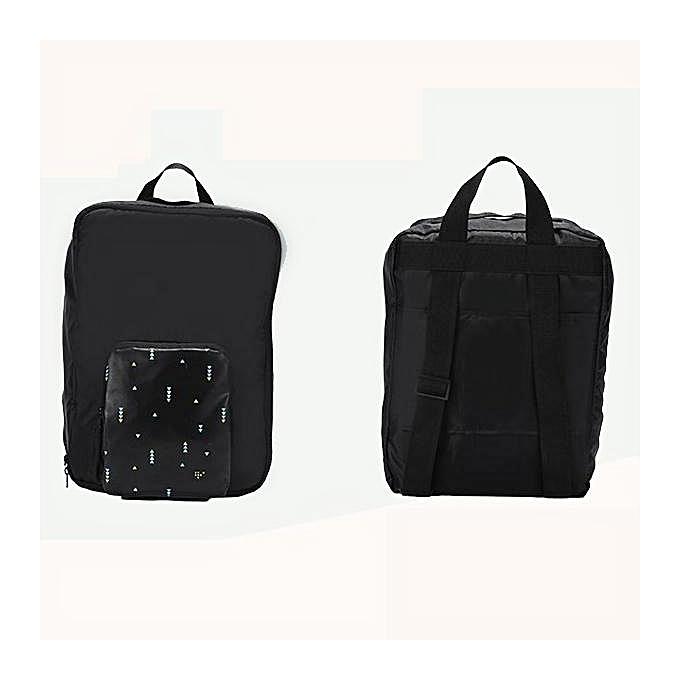 mode Unisex Polyester grand capacité Multifunctional Foldable voyage Tcourirk sac sac à dos Weekender sac à prix pas cher