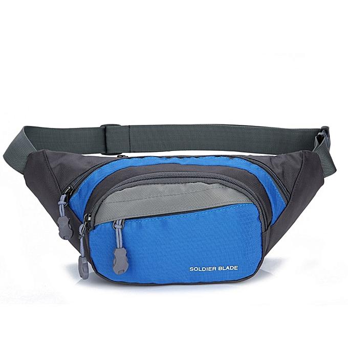 Generic Outdoor Sports Waist Bag Men and femmes Travel Running Fitness à prix pas cher