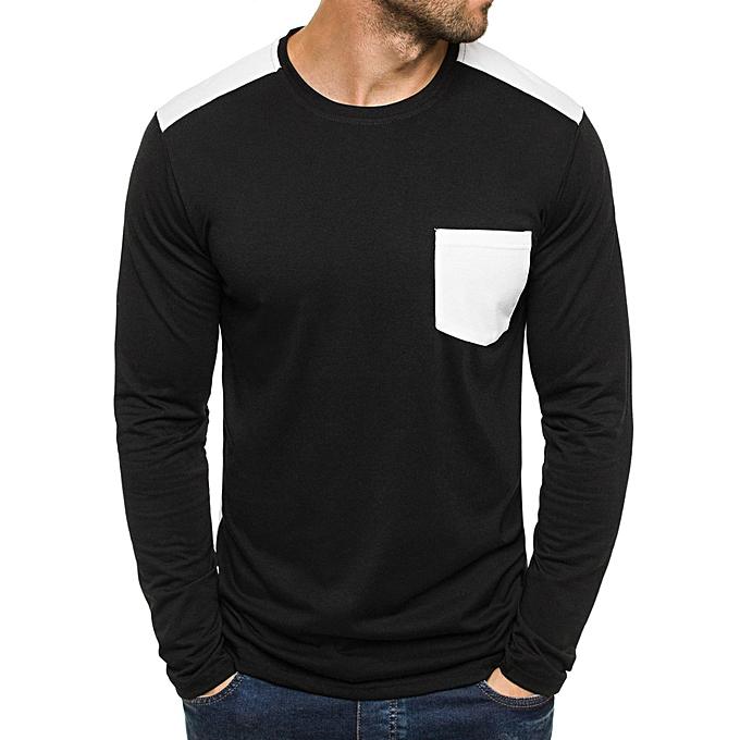 Fashion Men Printing Shamrock Tees Shirt Short Sleeve T Shirt Blouse GN L -vert à prix pas cher
