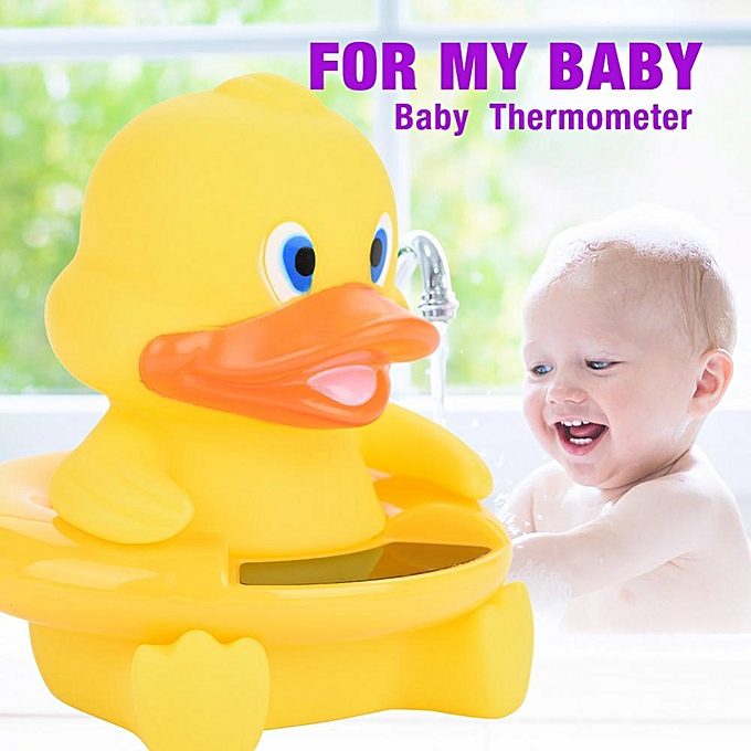 Generic   Bath Ther eter LED Temperature Display Floating Cute Animal Ther eter à prix pas cher