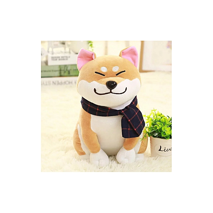 Autre Wear svoituref Shiba Inu dog plush toy soft stuffed dog toy good valentines gifts for girlfriend(25CM marron) à prix pas cher