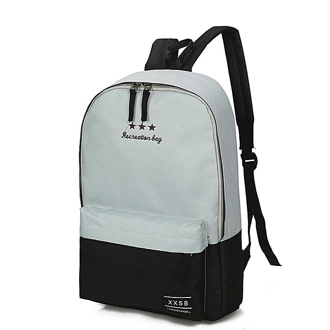 mode femmes Hommes  Girl Boy Pathwork Zipper sac à dos School sacs mode Shoulder sac à prix pas cher