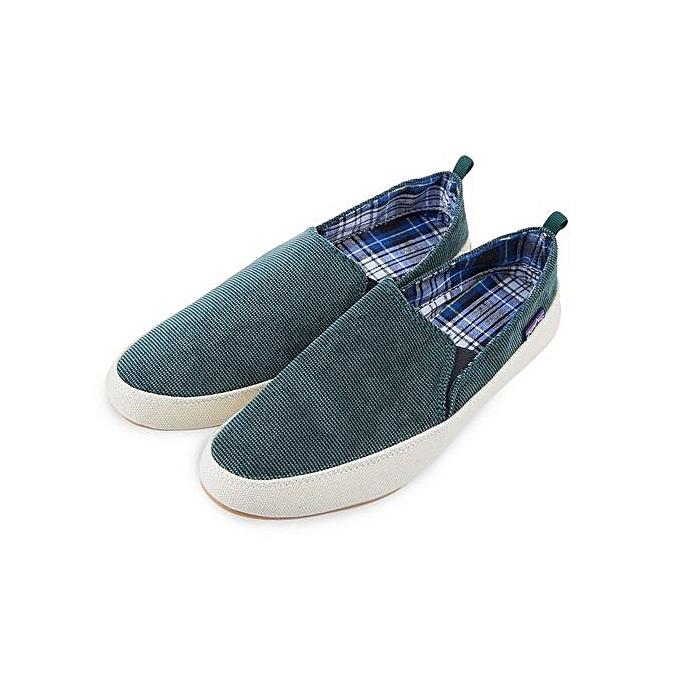 Fashion Summer Male Casual Pure Color Slip On Canvas Shoes à à Shoes prix pas cher  | Jumia Maroc 4c0965