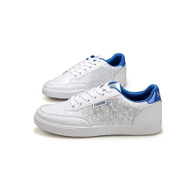 Fashion    's Sneaker Board Shoes Wholesale Boys Canvas White Shoes Trend Of Breathable Casual   Shoes Fashion-Blanc  Blue à prix pas cher  | Jumia Maroc 4aeb1d