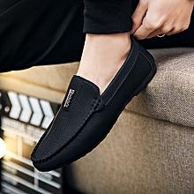 d60883a15b5ba Men  039 s Fashion Shoes Loafers Slip-ons Brand Shoes-Black