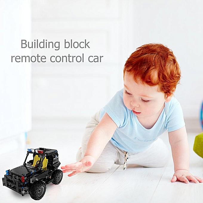 Autre Sunborui 336pcs   set blocs de construction rc app télécomhommede voiture super héros drôles jouet à prix pas cher