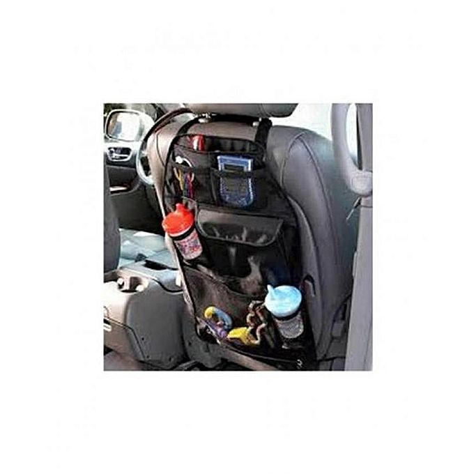 back seat car organizer noir equipement int rieur jumia maroc. Black Bedroom Furniture Sets. Home Design Ideas