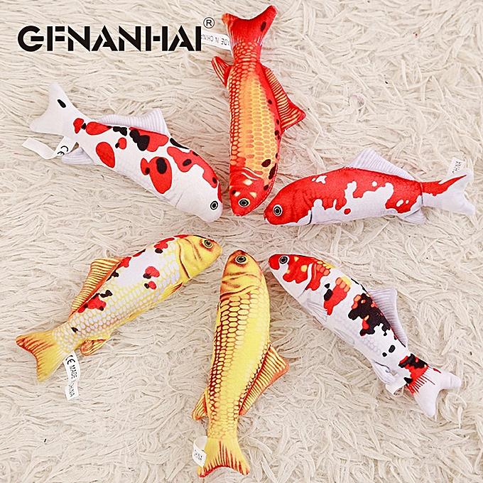 Autre 1pc 16 30cm voituretoon simulation voiturep plush toy stuffed soft cute mini Koi fish dolls kawaii finger toys for Enfants birthday gift(5) à prix pas cher