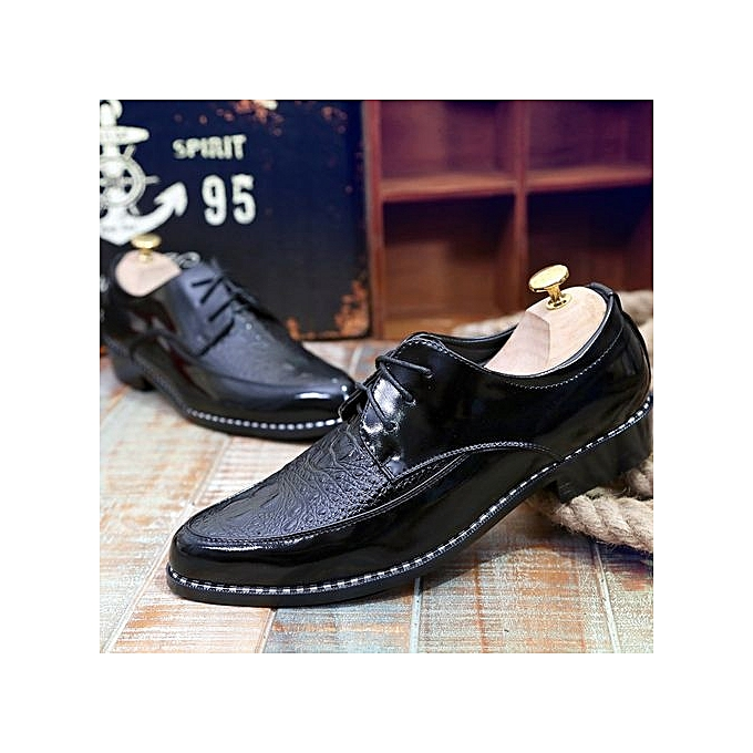 Zant Men's Classic Lace Up Leather Formal chaussures Men Genuine Leather Casual chaussures à prix pas cher    Jumia Maroc