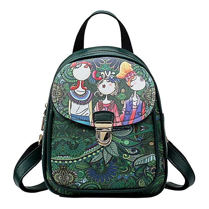 mode Wohommes sac à dos Forest Décontracté sac à dos Headset sac Student voyage sac à prix pas cher